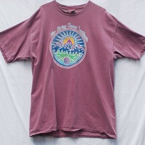Comfort Colors Shirts - String Cheese Incident | Purple Graphic Tee - XL